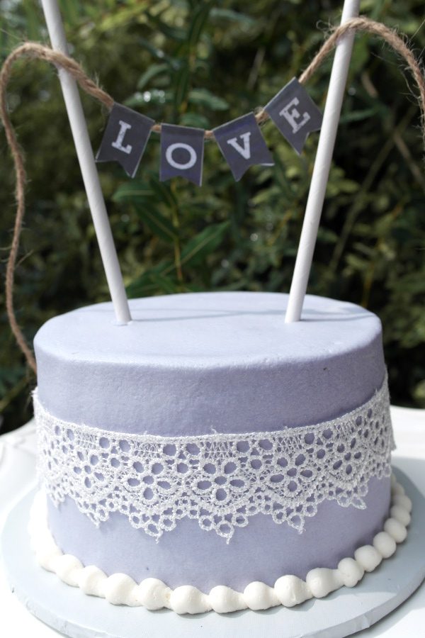 Lavender Amp Lace Rustic Bridal Luncheon