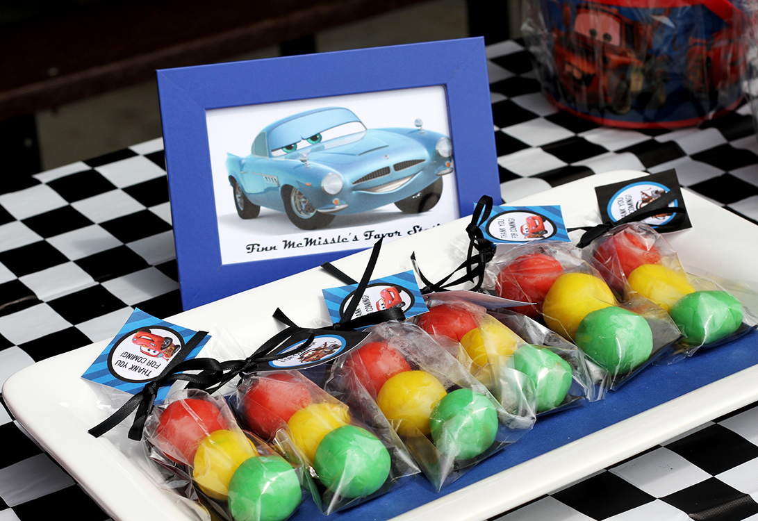 Disney Cars Ice Cream Party