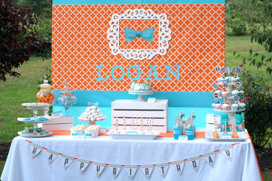 Little Man First Birthday Party