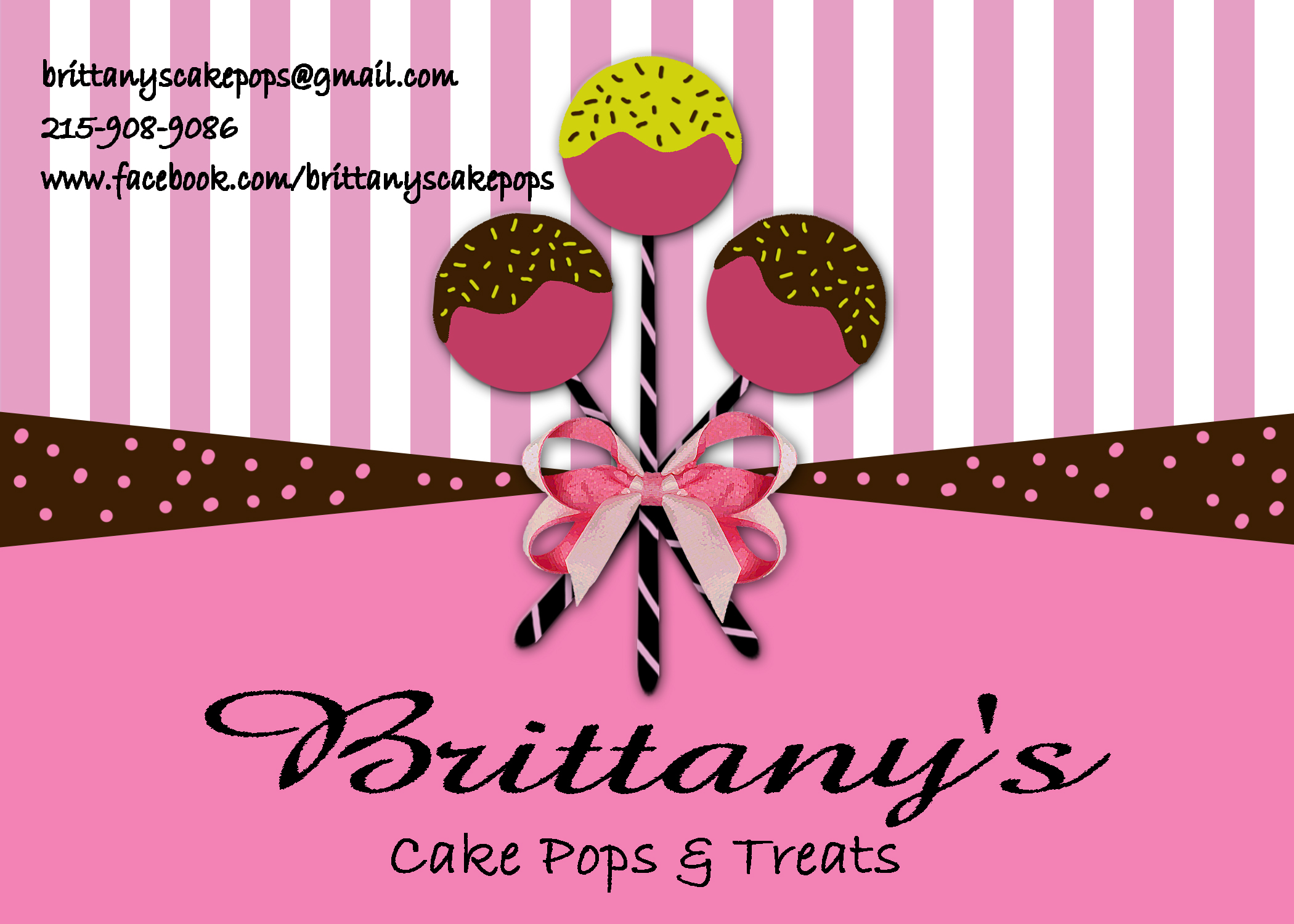 Cake Pops & Treats by Brittany