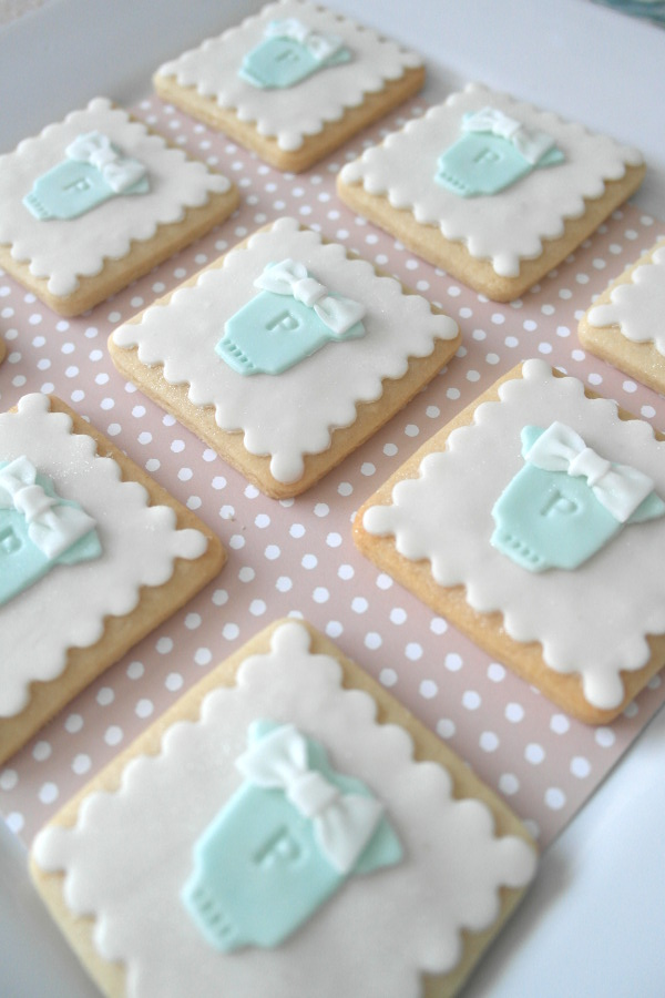 milk cookies themed baby shower had us craving everything baby