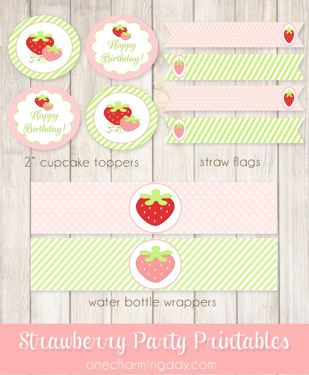 Strawberry-Party-Printable