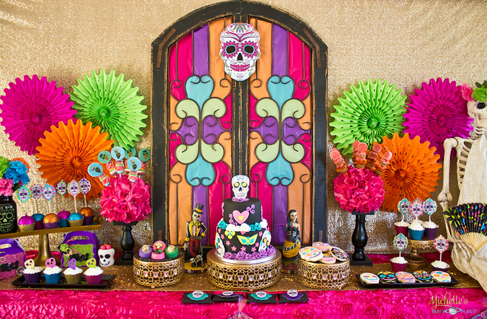 day of the dead halloween party - Day Of The Dead Halloween Decorations