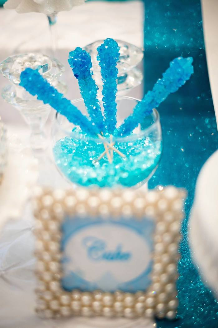 Sweetly Feature Elegant Frozen Party Sweetly Chic