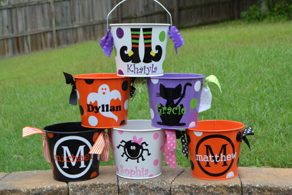 tick or treat buckets