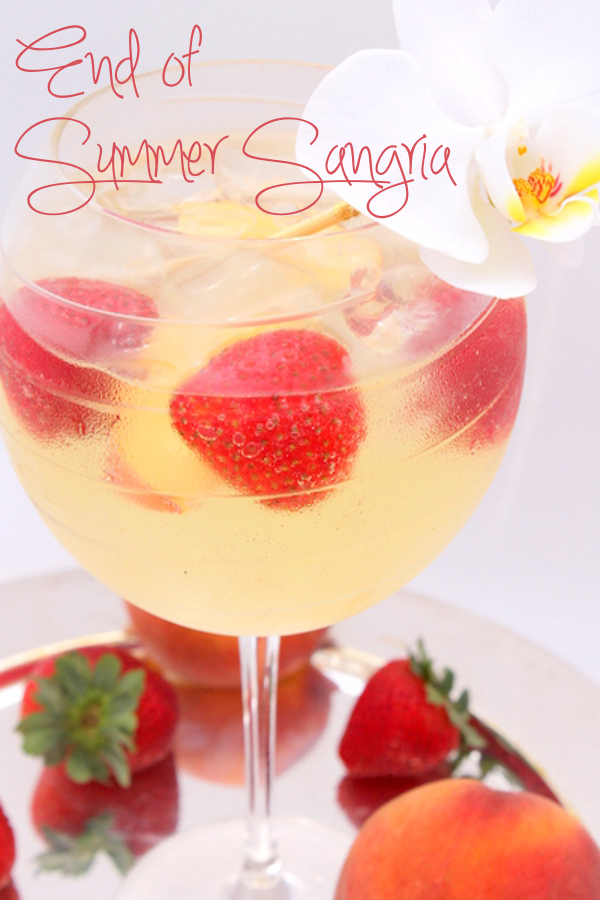 Thirsty Thursday: End of Summer Sangria Recipe | Sweetly Chic Events ...