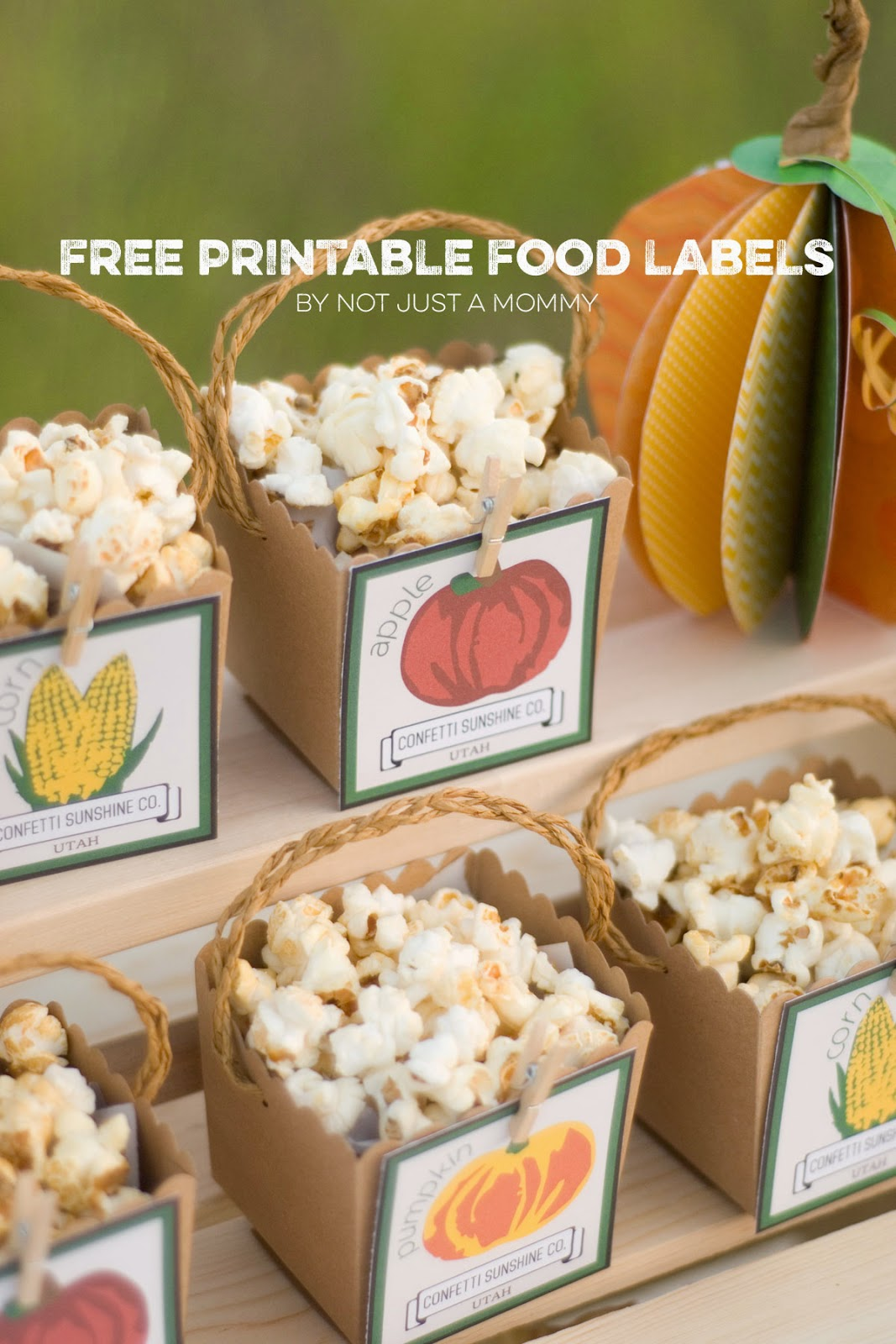 DIY Printable Food Labels