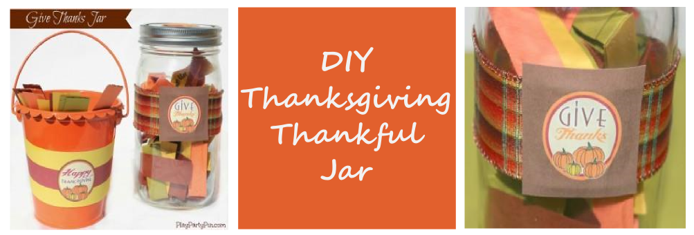 Thanksgiving DIY Thankful Jar