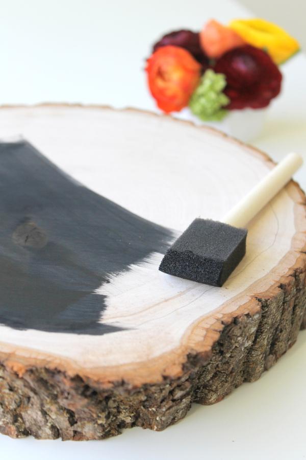 DIY Thanksgiving Chalkboard Menu