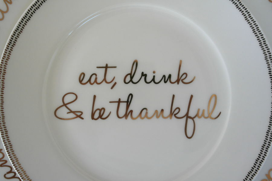& Simple Thanksgiving Place Setting Ideas