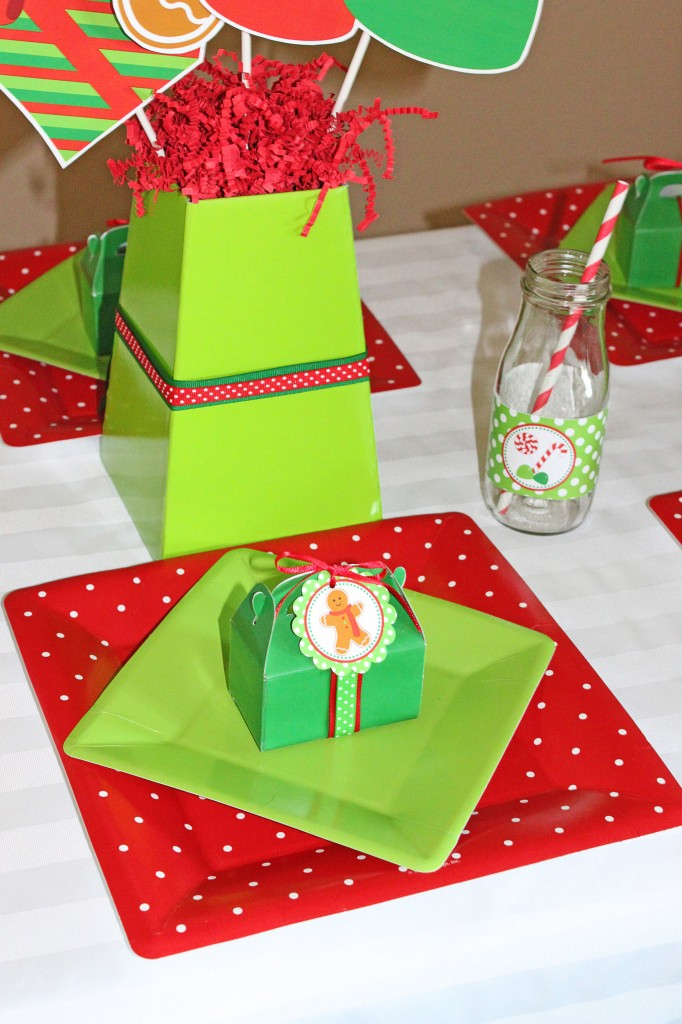 Sweetly feature gingerbread man christmas party