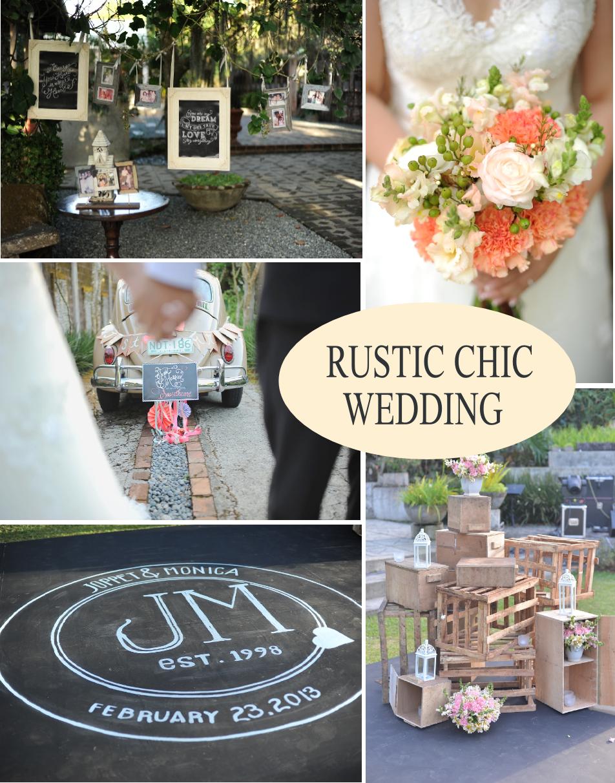 Uncategorized outdoor vintage glam wedding rustic wedding chic - Rustic Chic Wedding