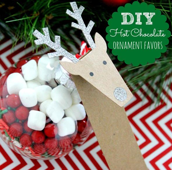 DIY Hot Chocolate Ornament