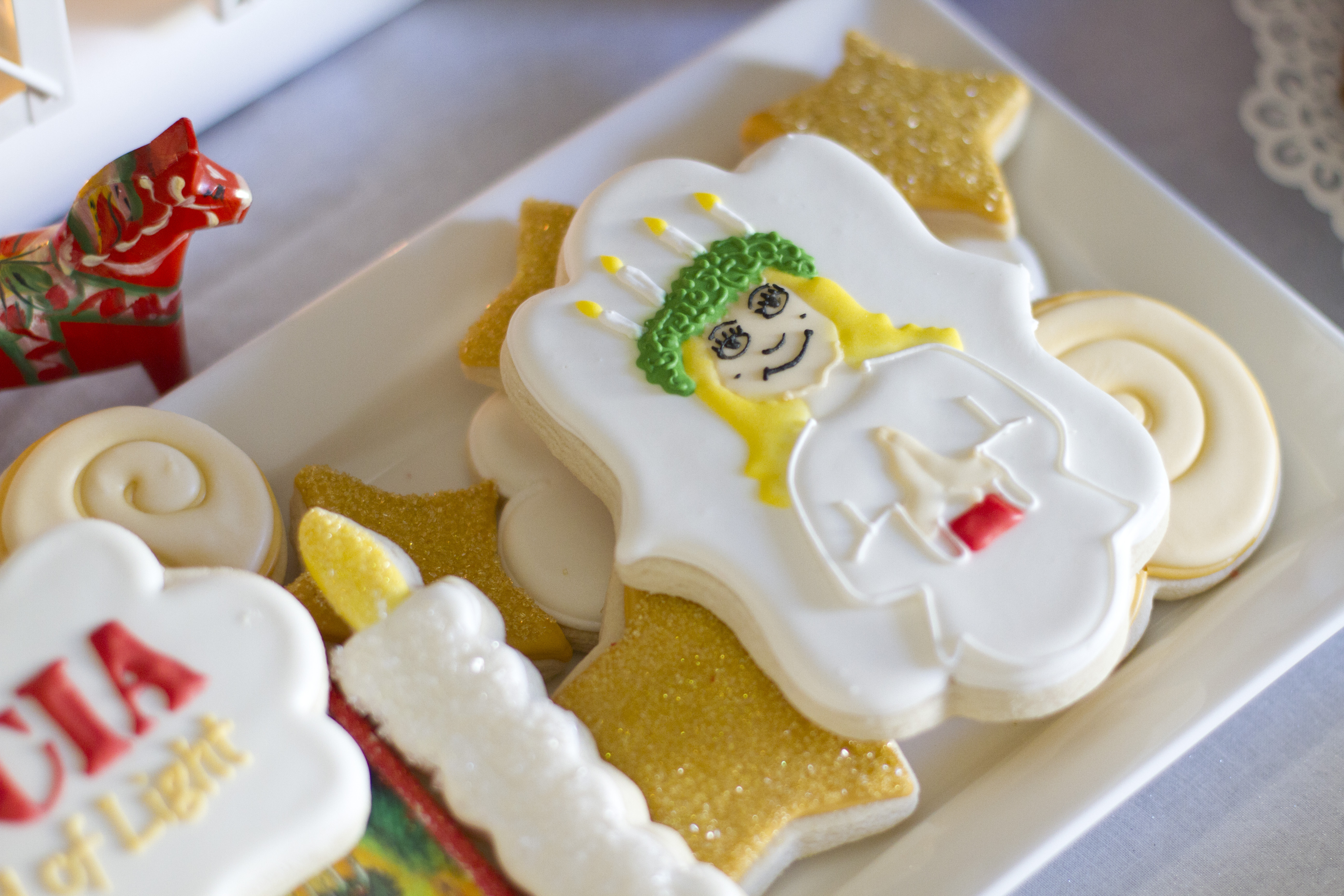Lucia child of light cookies