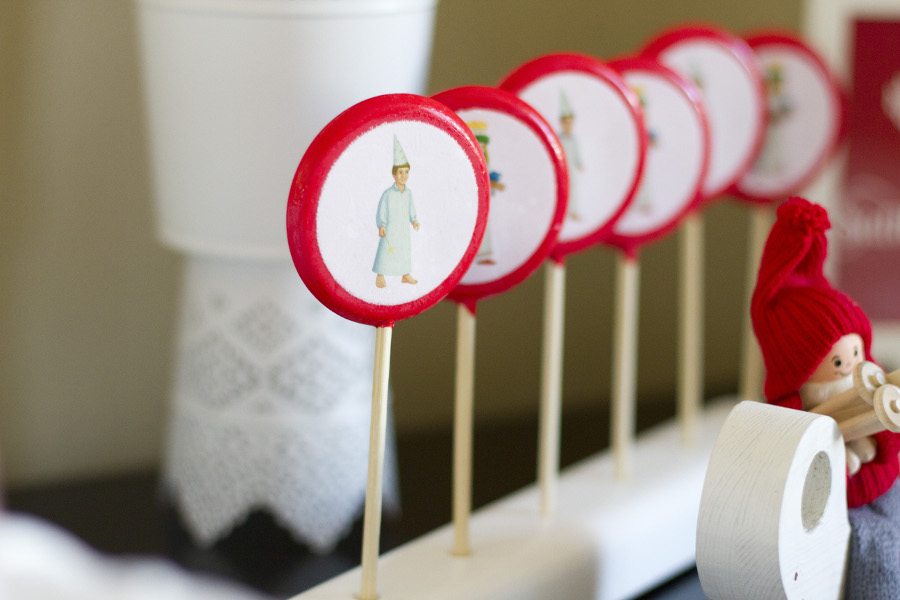 Santa Lucia Lollipops