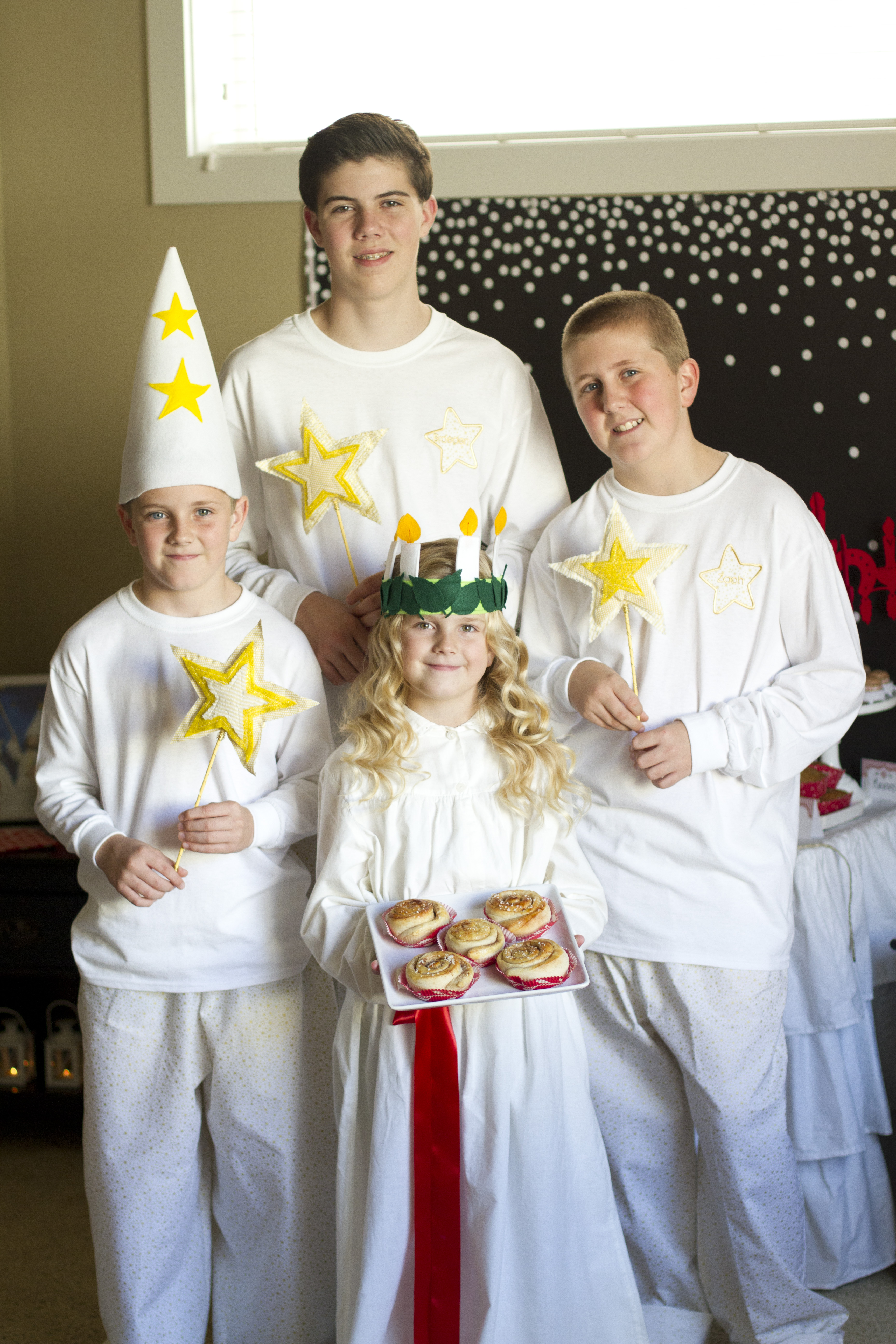Lucia child of light and star boys