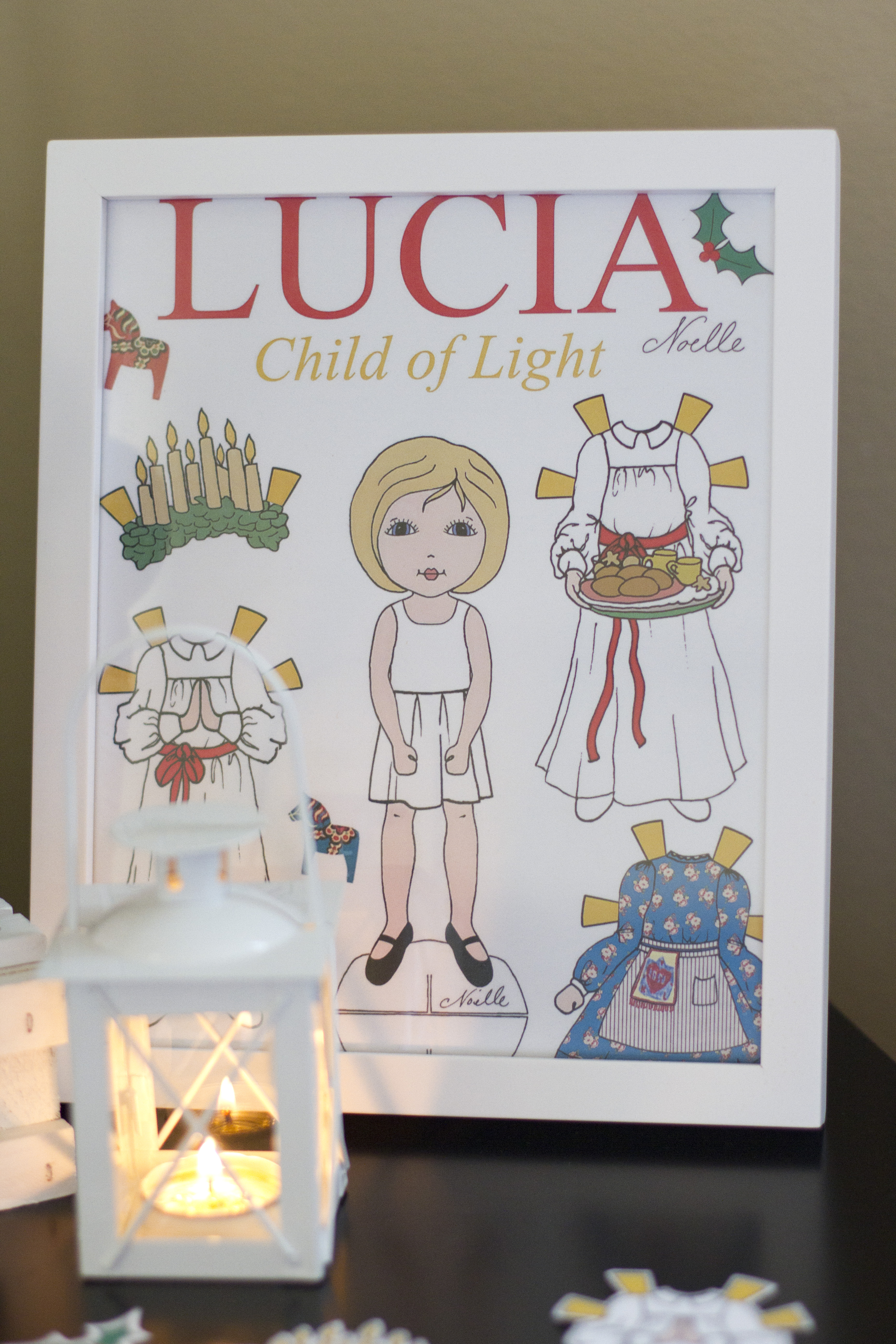 Lucia Child ofLight printable