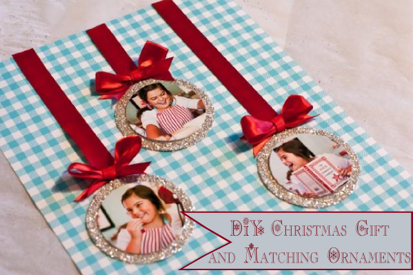 Grandparent Christmas Gift And Matching Ornaments