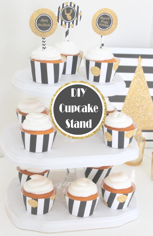 DIY Cupcake Stand by Sweetly Chic Events & Design