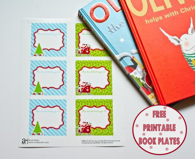 picture regarding Printable Plates known as Absolutely free Printable Xmas Reserve Plates!