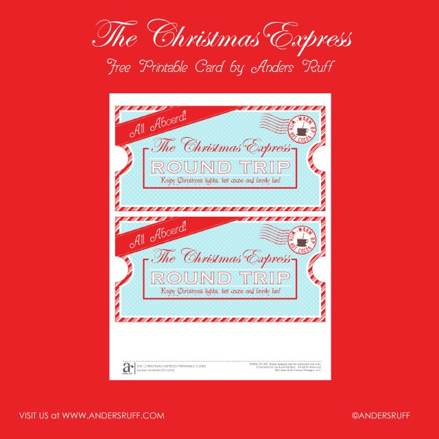 photograph relating to Polar Express Tickets Printable named Totally free Printable Xmas Specific Educate Tickets!