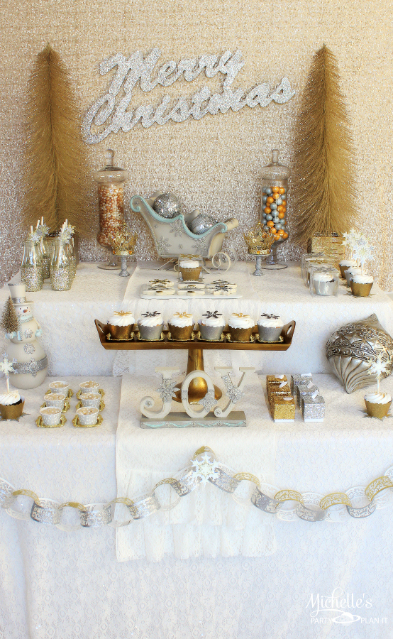 silver and gold christmas decorating ideas