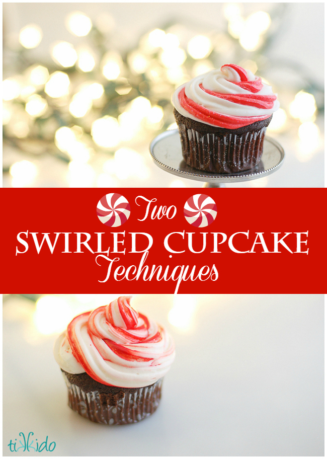 peppermint swirl icing tutorial