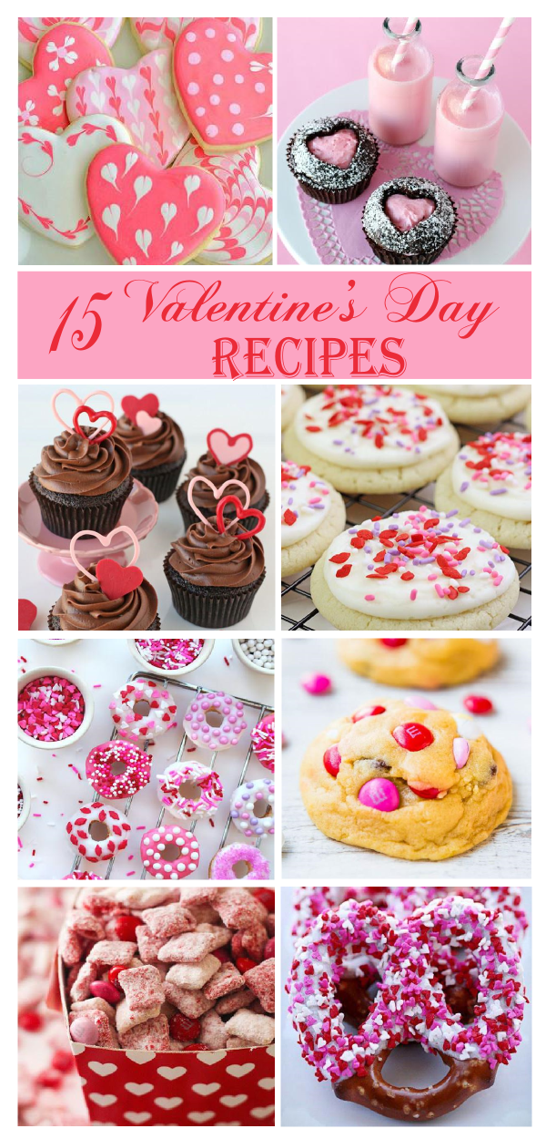 15 must have valentines day dessert recipes