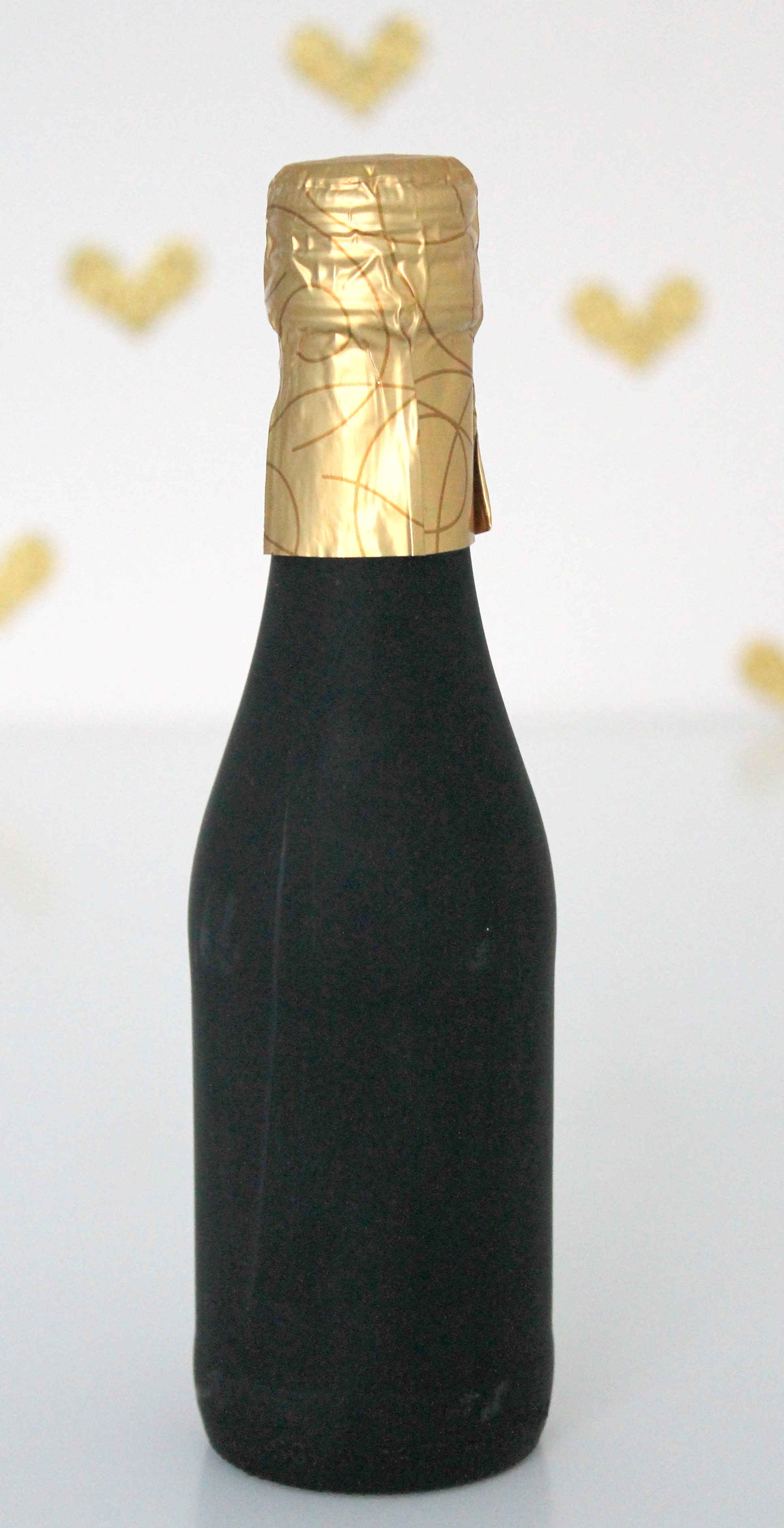 DIY Custom Champagne Favor
