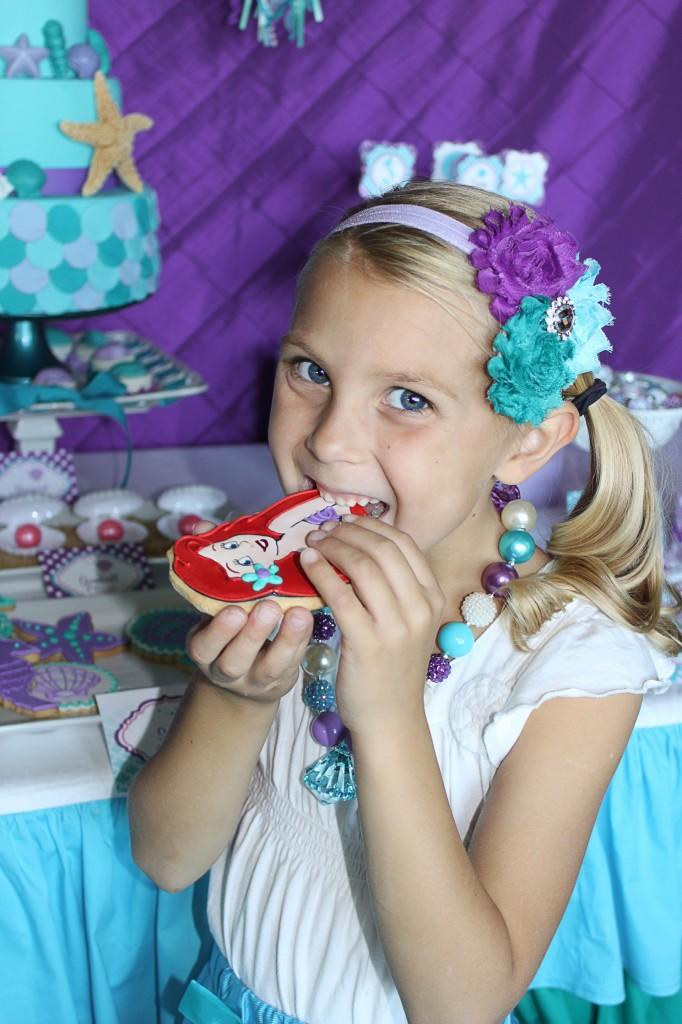 Little Mermaid Party Cookies