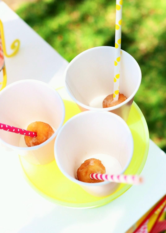 sunshine and lemonade party lemonade stand drinks