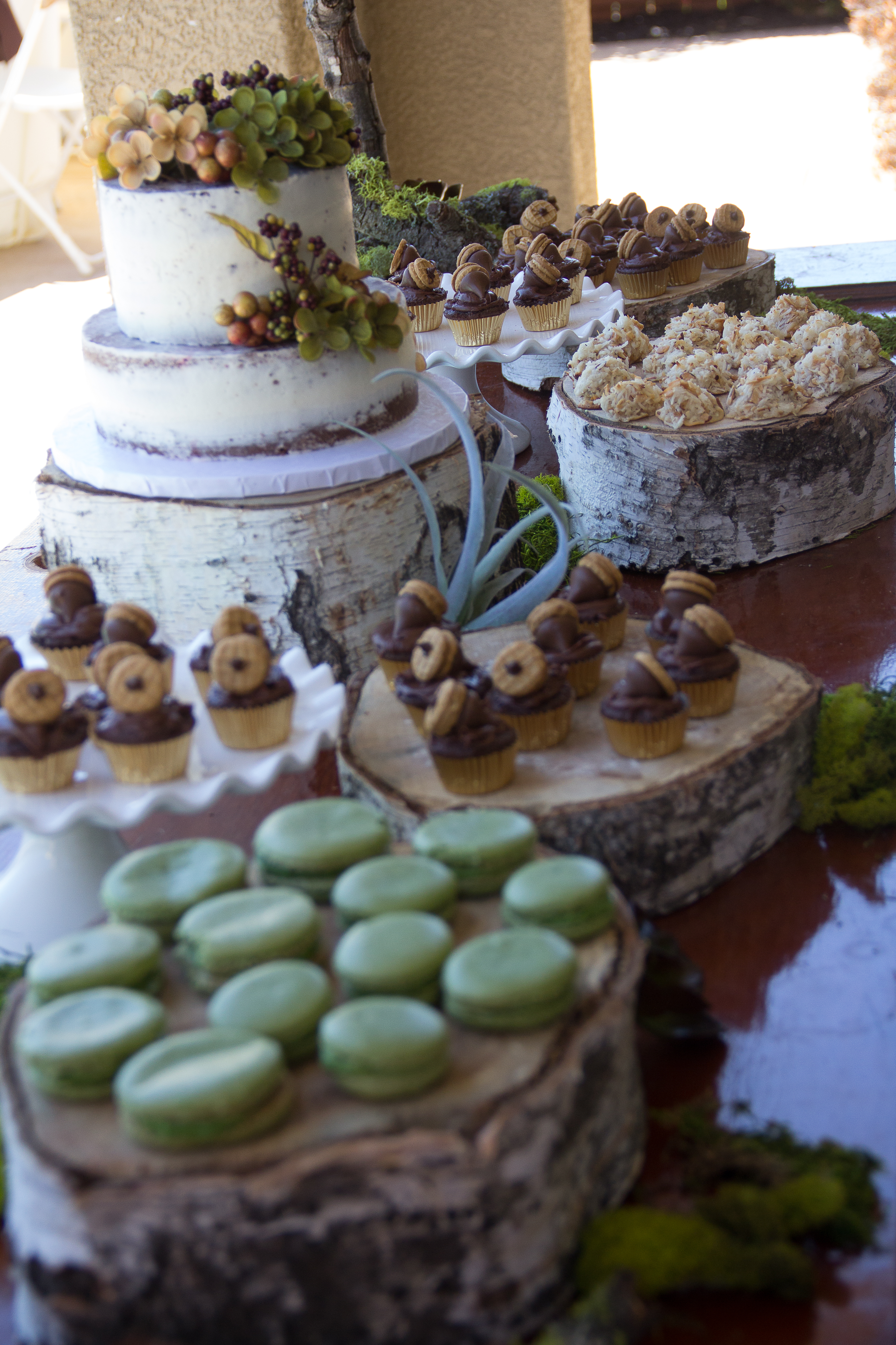 Woodland Baby Shower Desserts