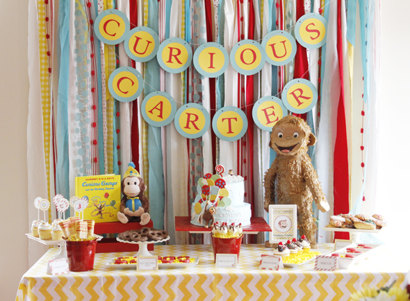 curious-george-dessert-table-party-ideas