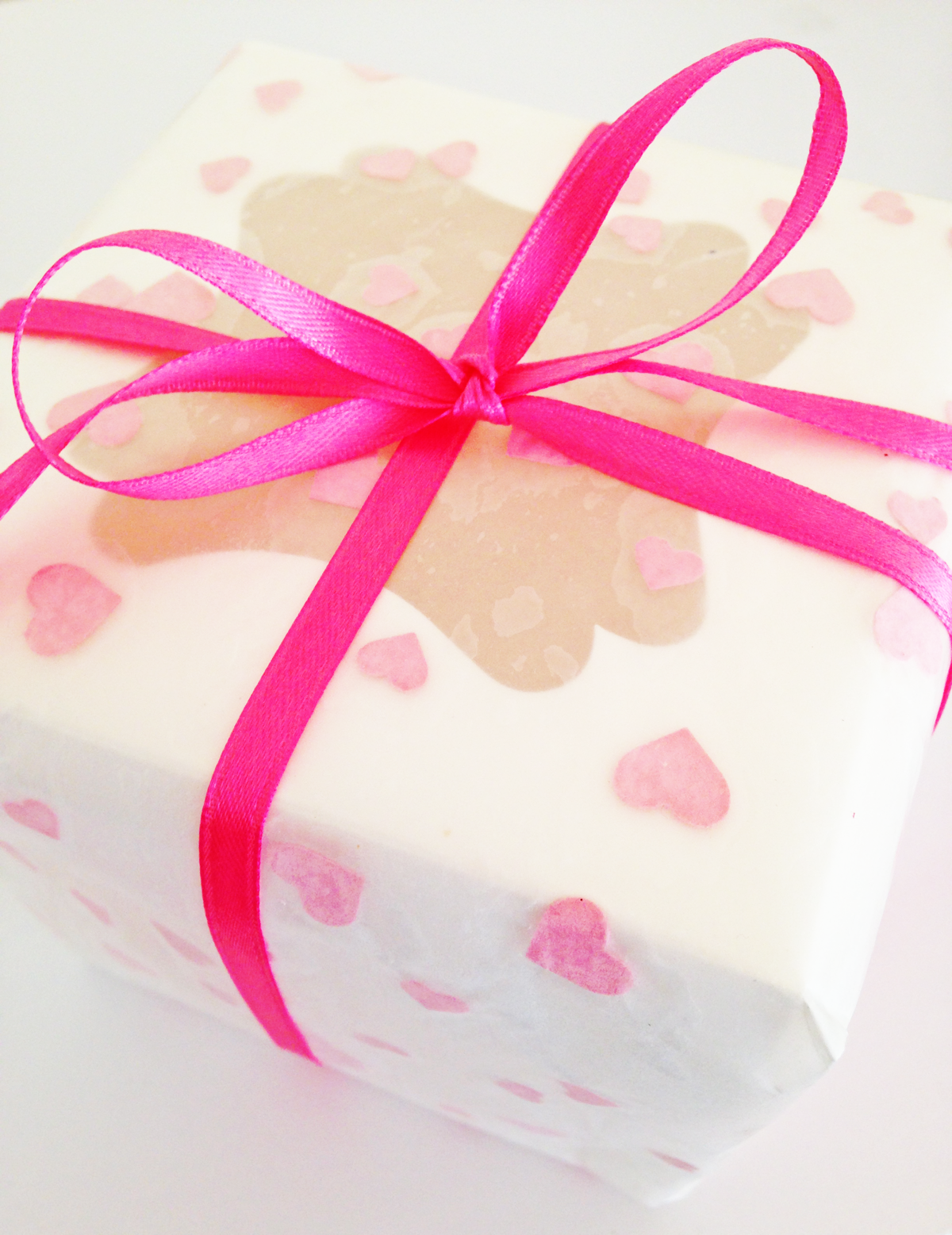 diy valentines day heart wrapping paper - Valentines Day Wrapping Paper