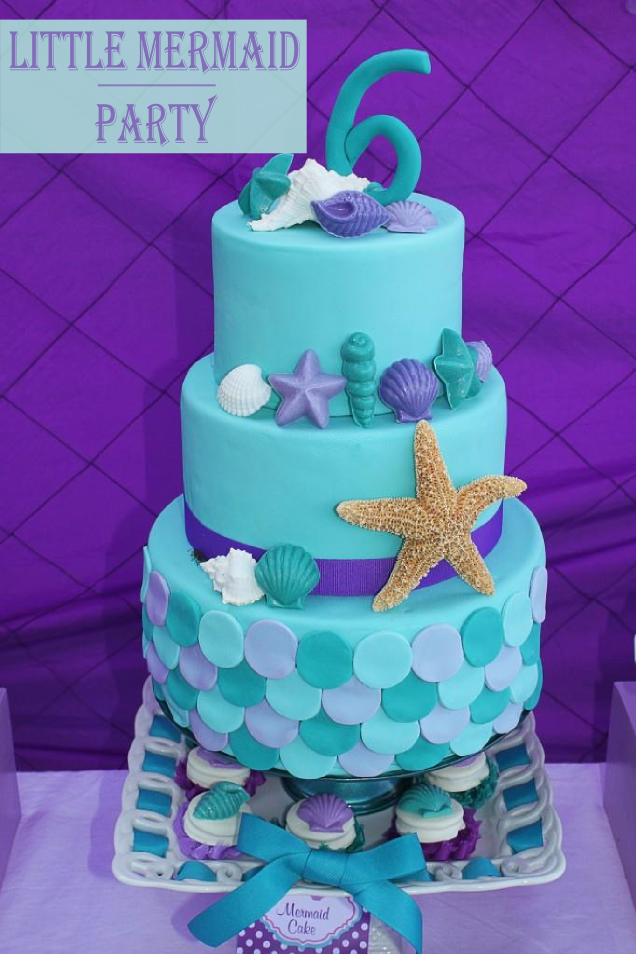 littlemermaidpartycakepng