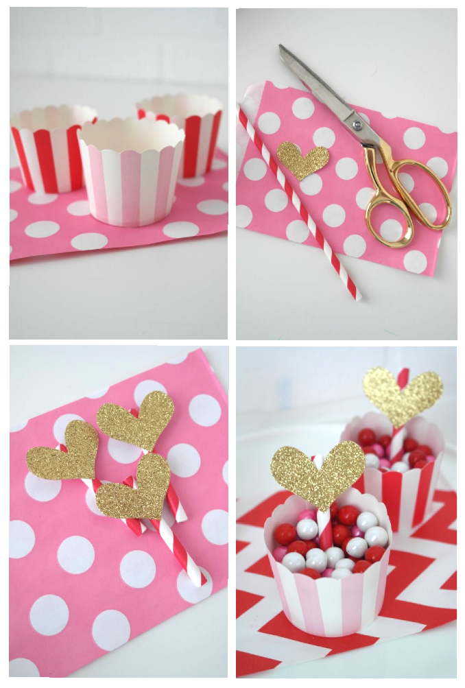 valentines day candy and cupcake ideas