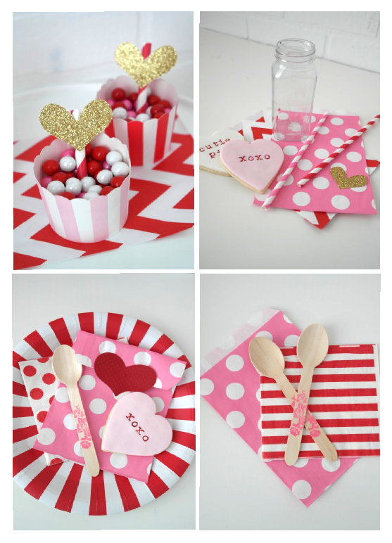 valentines day party supplies