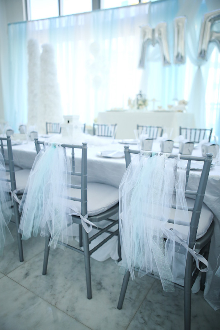 frozen themed party chairs