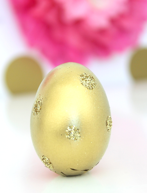 DIY Glitter Surprise Egg Step 5