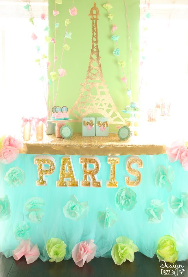 spring time in paris party