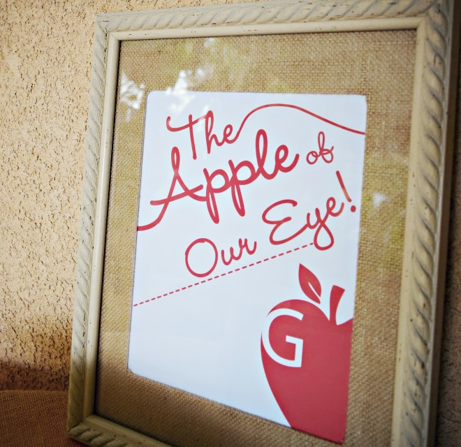 Apple Of Our Eye Frame