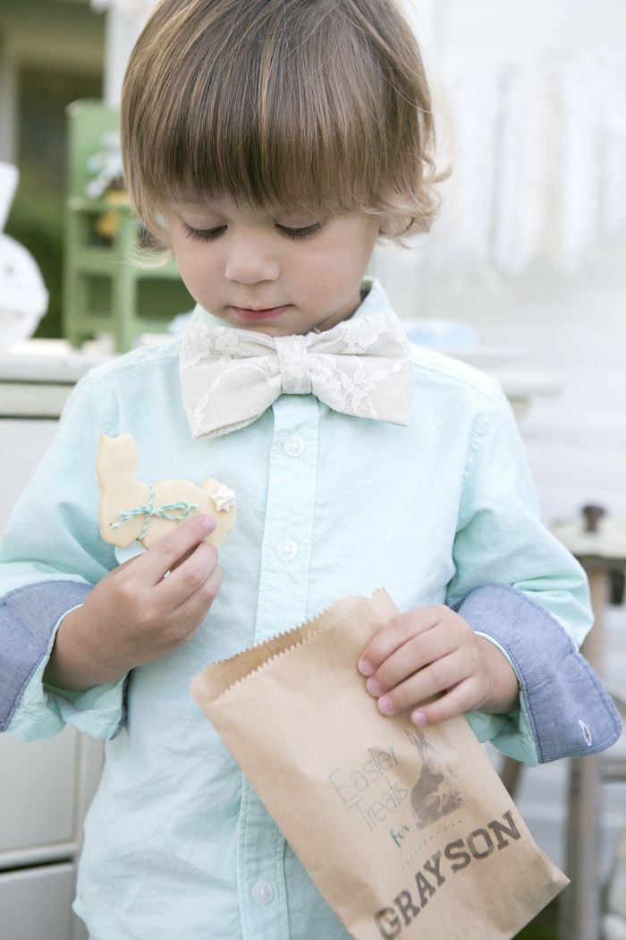 beatrix potter easter party cookies
