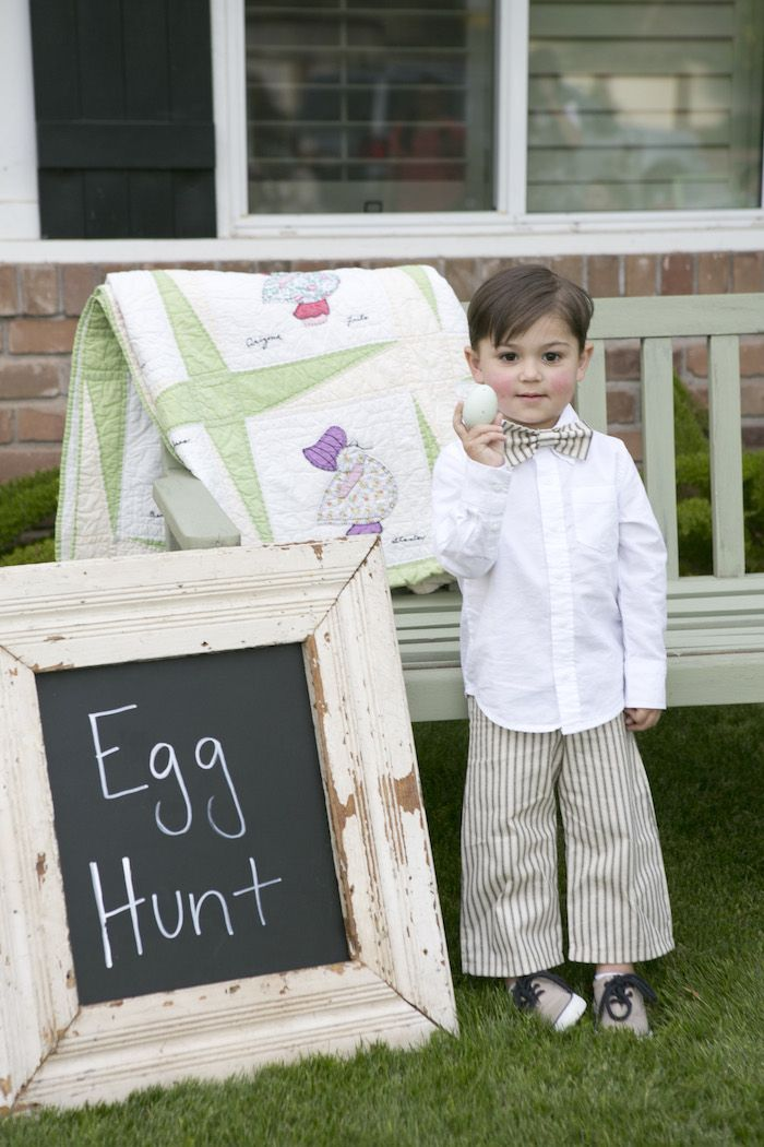 beatrix potter easter party egg hunt