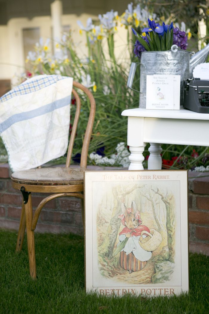 beatrix potter peter rabbit easter party