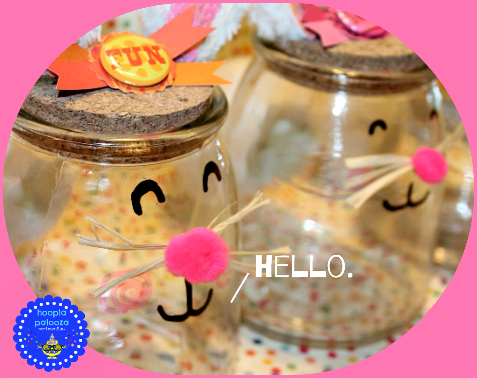 Bunny Jar DIY