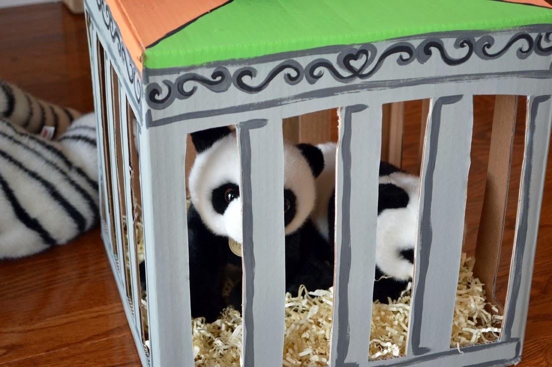 rainbow zoo party animal boxes