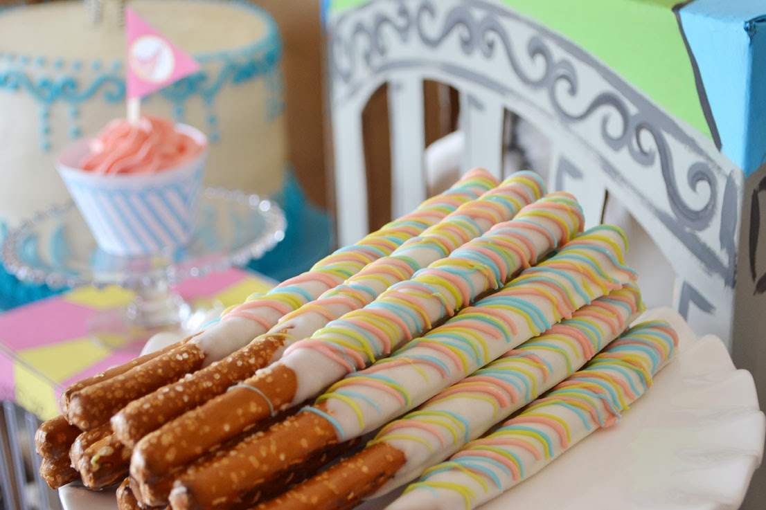 Sweetly Feature Rainbow Zoo Birthday Party