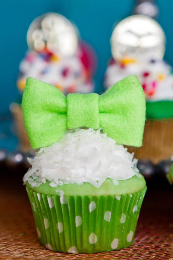 st patricks day cupcake