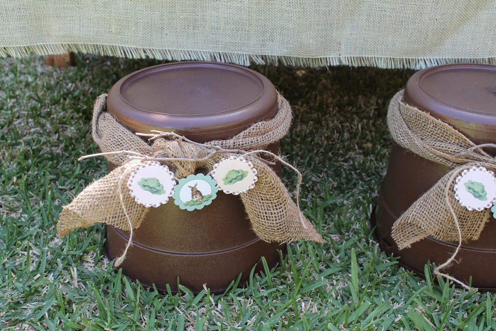 vintage easter party diy seating