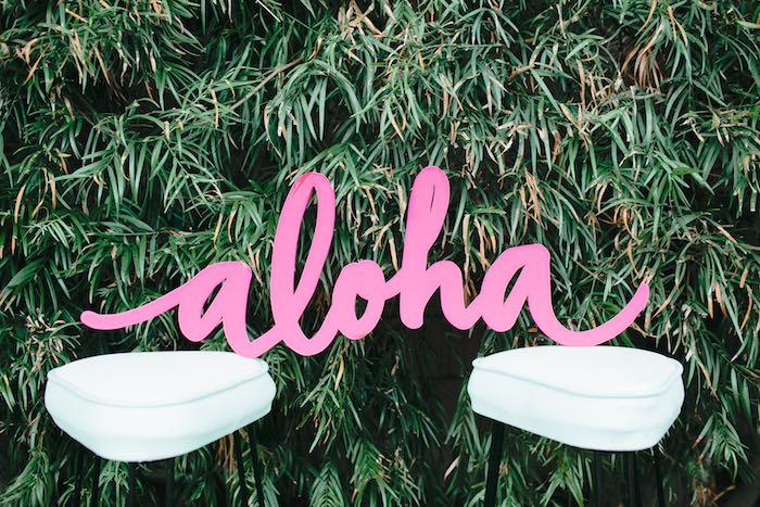 Aloha Luau Bridal Shower Aloha